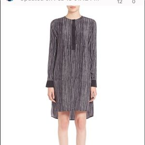 Vince abstract career dress Xsmall